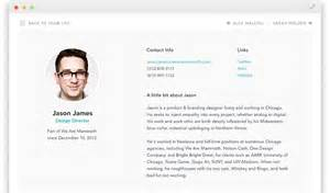 employee profile template out of darkness