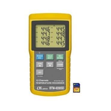 Jual Thermometer Lutron lutron btm 4208sd duta persada instruments jual alat survey dan alat ukur berkualitas