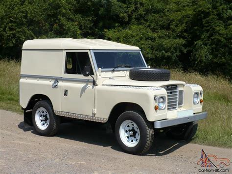 land rover series 3 4 1982 classic land rover series iii swb 88