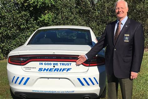 Randolph County Sheriff S Office by Sheriff Cars Display In God We Trust News