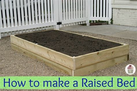 How To Build A Raised Garden Bed With Sleepers by How To Make A Raised Garden Bed Hoosier