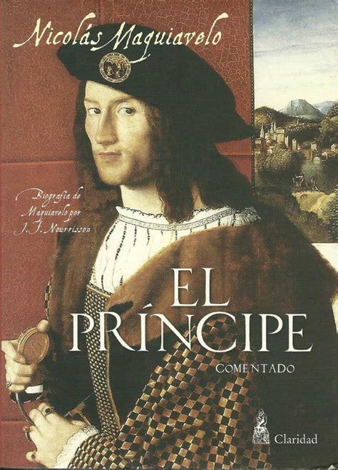 libro el principe the nicolas maquiavelo