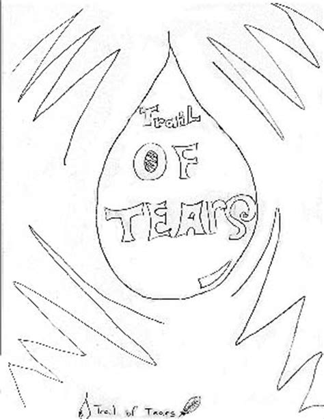Trail Of Tears Pages Coloring Pages Trail Of Tears Coloring Page