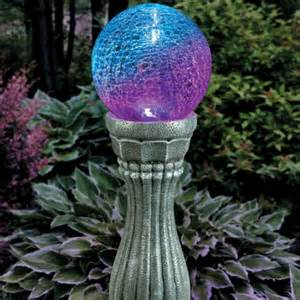 Home Decorations Outlet color changing solar gazing ball
