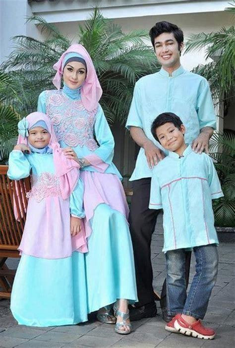 Model Busana Muslim Keluarga model baju keluarga edisi lebaran hairstylegalleries