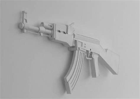random stuff paper guns