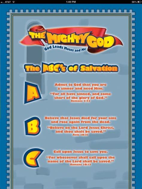 printable abc s of salvation 9 best images about abc salvation on pinterest crafts