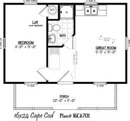 16 X 16 Cabin Floor Plans by 16 X 24 With 5 X 20 Porch House Plans Pinterest