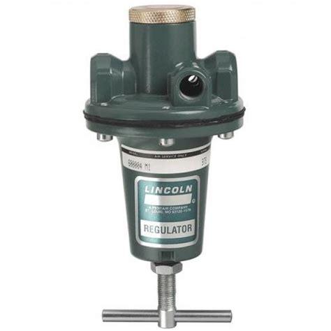 air pressure regulator air regulator 1 4 in lincoln industrial 600004