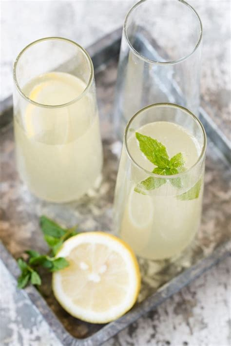 french 75 garnish elderflower french 75 garnish with lemon