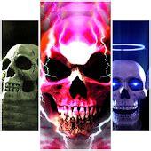 fire skulls  wallpaper android apps  google play