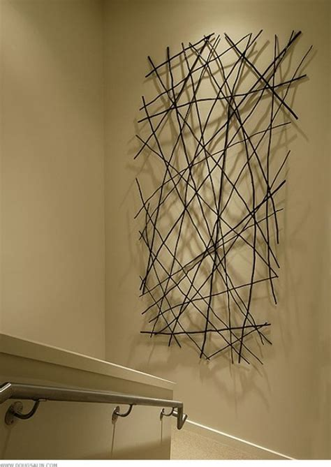 stick on wall nails new ways to use in a room