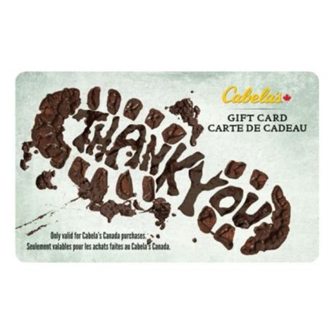 Who Sells Cabela S Gift Cards - cabela s canada gift card thank you cabela s canada