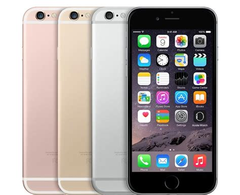 iphone 6s colors is the apple iphone 6s