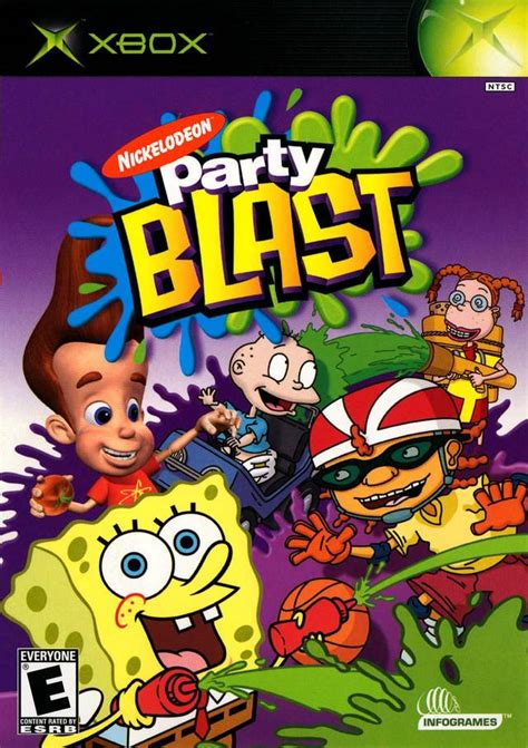 Home Design 3d Cheats by Nickelodeon Party Blast Box Shot For Xbox Gamefaqs