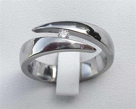 unique titanium engagement ring in the uk