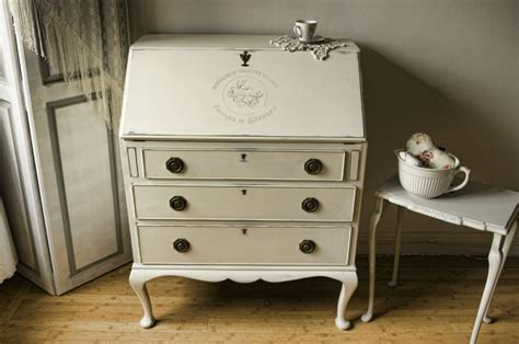 vintage shabby chic bureau no 06 touch the wood