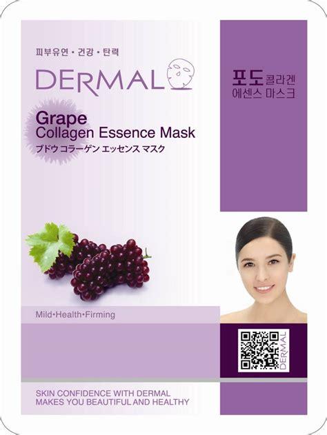 Dermal Pomegranate Collagen Essence Mask dermal grape collagen essence mask 23g manufacturer