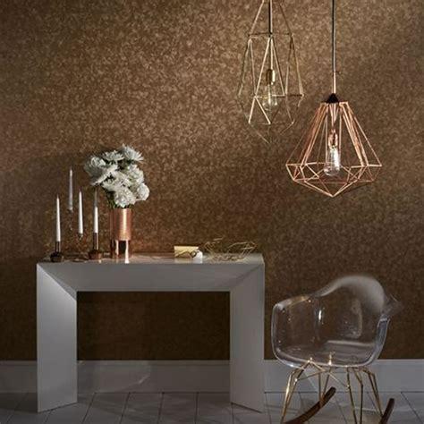 glitter wallpaper hanging instructions copper w0056 02 hexagon reflections clarke