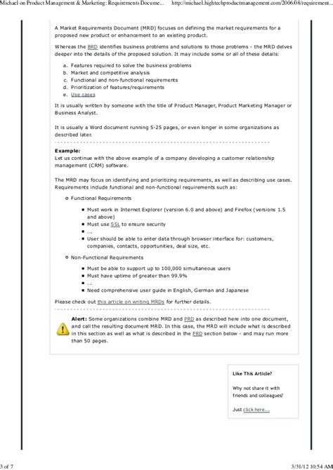 Product Management Marketing Requirements Document Alphabet Soup Mrd Document Template