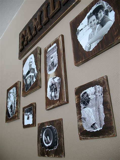 how do i decoupage decoupage family photo plaques crafts by amanda
