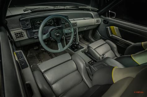 Saleen Interior by 1989 Ford Mustang Saleen Ssc Bring A Trailer