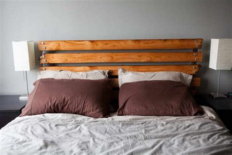 Make A Wood Headboard by 20 Beds With Beautiful Wooden Headboards