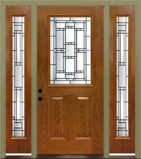 mastercraft venice 36 quot x 80 quot fiberglass ext door with 14