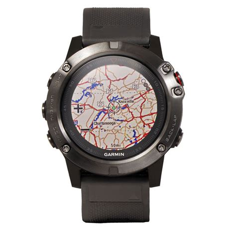 Garmin Fenix 5x garmin fenix 5x sapphire gray with black band 649 99 free shipping us48