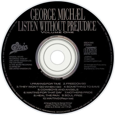 Cd George Michael Listen Without Prejudice george michael fanart fanart tv