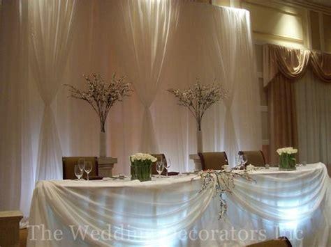 decorating the head table at a wedding reception ehow head table decor idea help weddingbee
