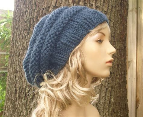 knitting pattern womens hat free slouch hat knitting patterns slouch hat knitting