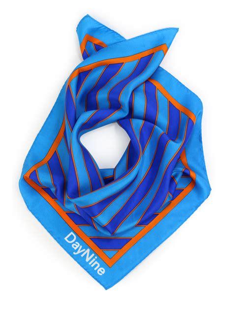custom silk scarves and silk neckties for daynine