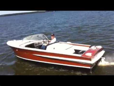 1963 chris craft ski boat 1963 chris craft ski jet youtube