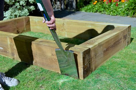 manufacture your own raised herb garden in less than an