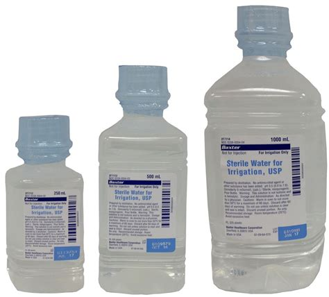 Refill Aseptic Gel 500cc One Med sterile water for irrigation in bottles warehouse