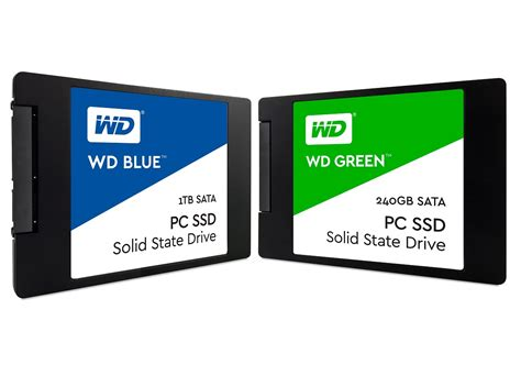 Diskon Wd Ssd Green 240gb wd announces wd blue wd green ssds returns to consumer