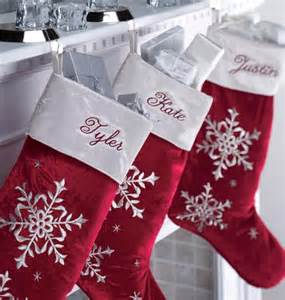 red velvet christmas stocking personalized exposures