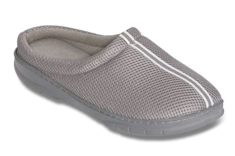 memory foam slipper boots mens memory foam slippers mens breathing mesh slipper