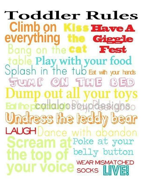 printable house rules poem funny preschool quotes quotesgram