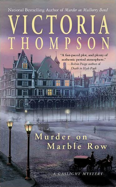 libro the marble collector murder on marble row gaslight mystery series 6 by victoria thompson paperback barnes noble 174