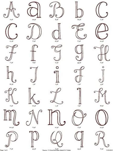 free printable alphabet letters for embroidery 6 alphabet patterns for hand embroidery needle work