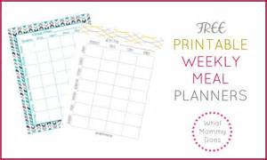 meal plan template free free printable weekly meal planning templates and a week
