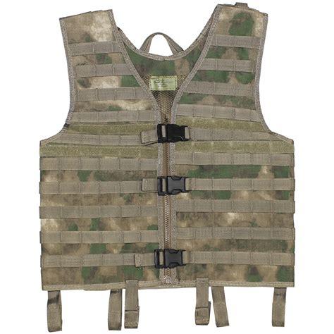 molle vest mfh vest molle light hdt camo fg a tacs fg 1st