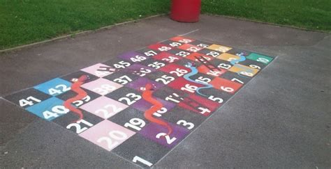 Floor Snakes And Ladders by Snakes And Ladders Floor Markings