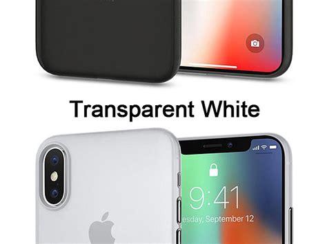 Spigen Iphone X Air Skin Soft Clear Original spigen air skin for iphone x