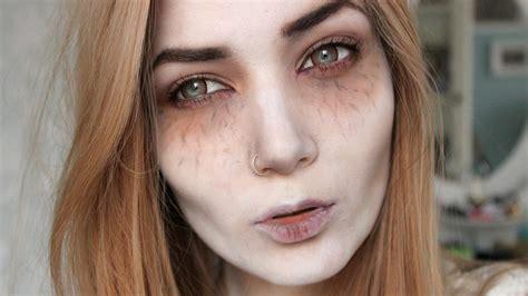 victorian vampire halloween makeup tutorial youtube