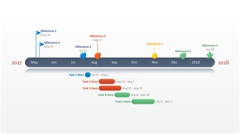 free timeline template powerpoint powerpoint timeline template free media player