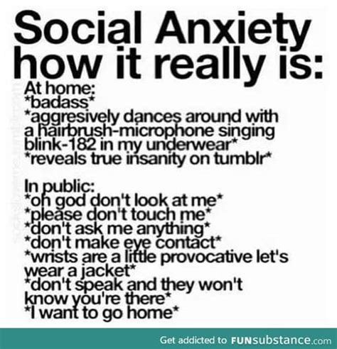 Social Anxiety Meme - funsubstance funny pics memes and trending stories