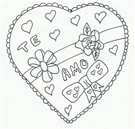 imagenes de amor para dibujar con versos fabulosos corazones de amistad para colorear con frases de